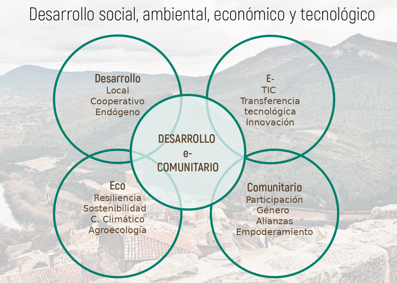Componentes del Desarrollo e-Comunitario